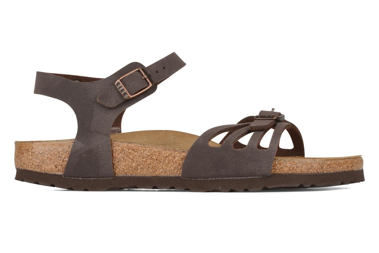 Sandals Birkenstock Bali W Brown back view