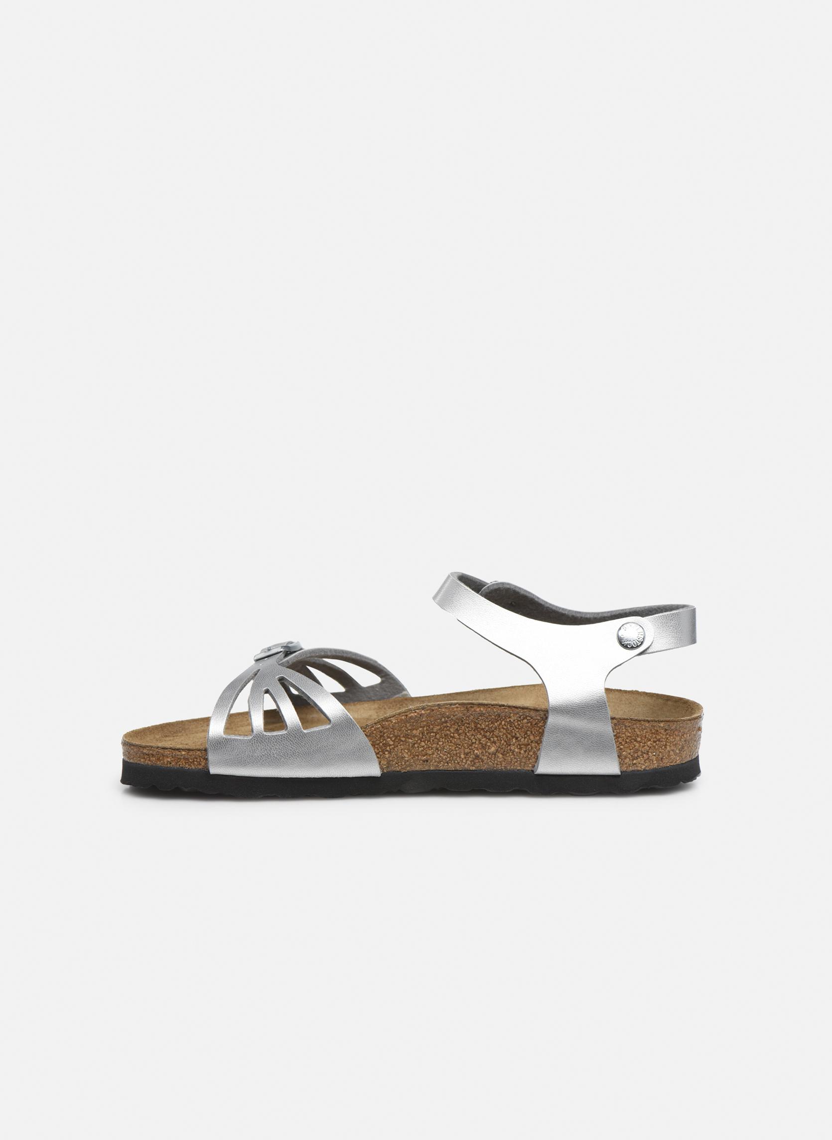 Sandales et nu-pieds Birkenstock Bali W Argent vue face