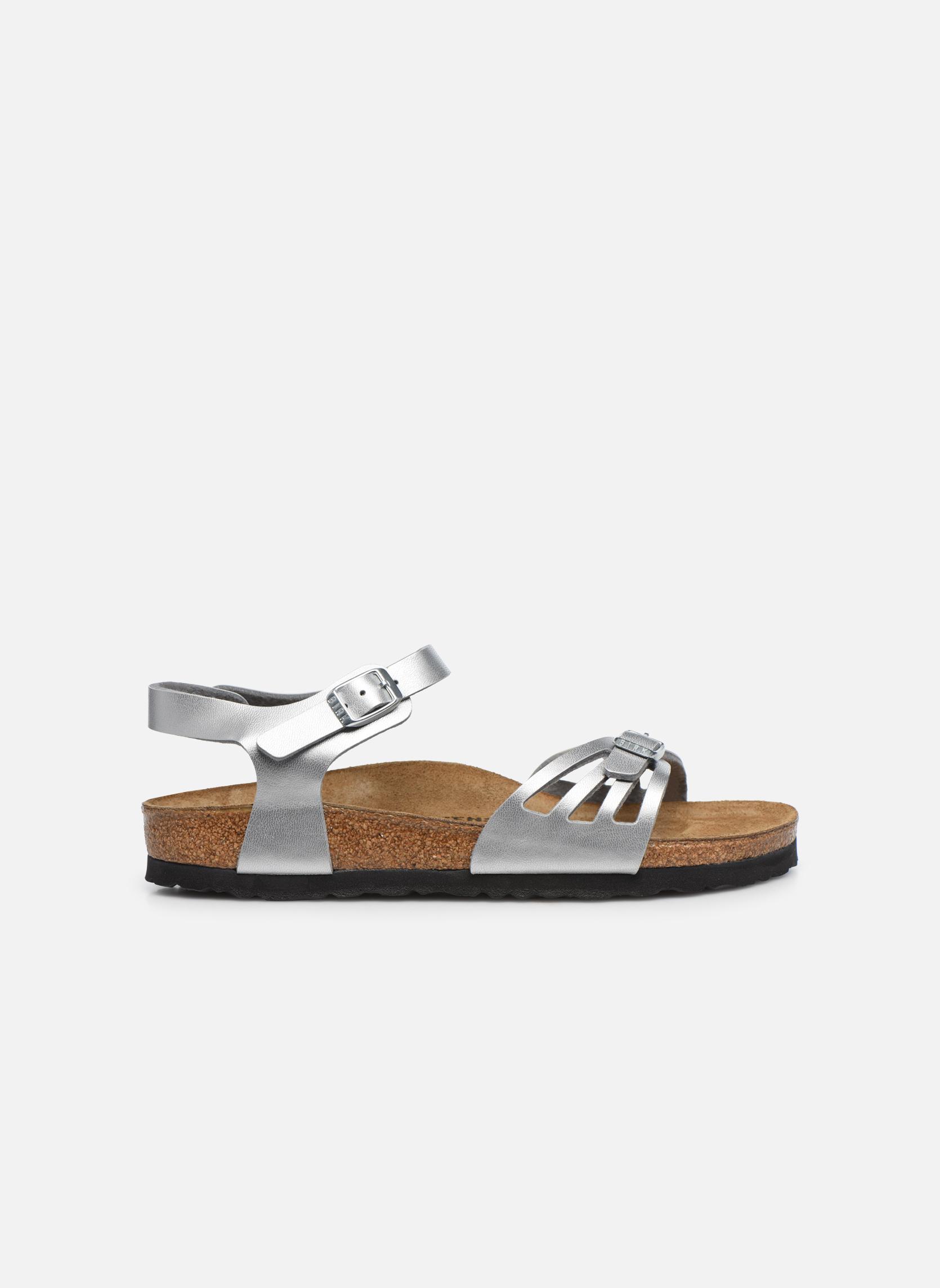 Sandales et nu-pieds Birkenstock Bali W Argent vue derrière