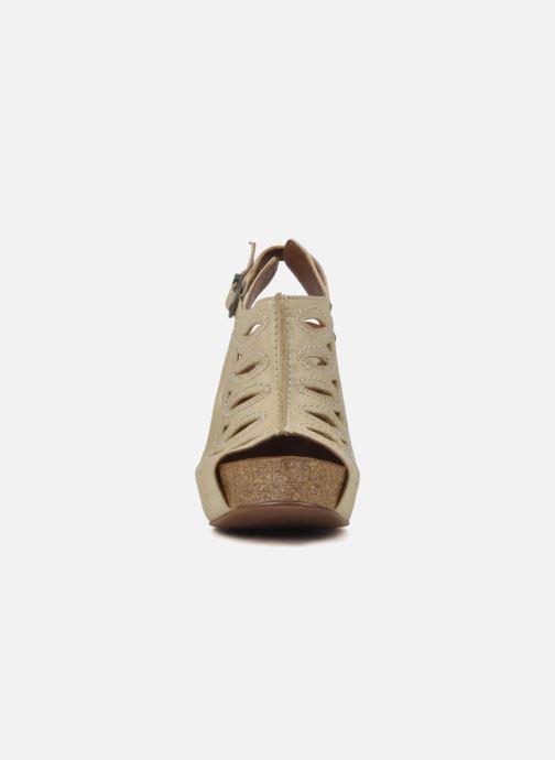 Sandales et nu-pieds Jeffrey Campbell Tohill Beige vue portées chaussures