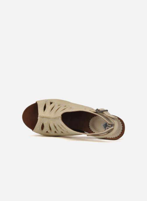 Sandales et nu-pieds Jeffrey Campbell Tohill Beige vue gauche