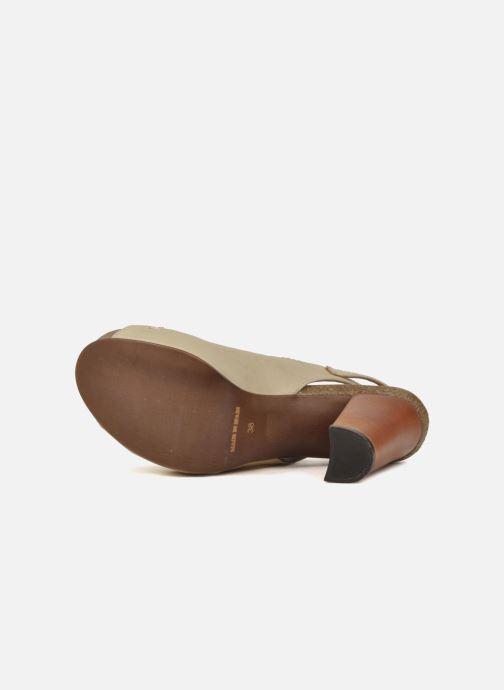 Sandales et nu-pieds Jeffrey Campbell Tohill Beige vue haut