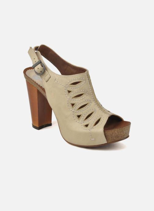 Sandales et nu-pieds Jeffrey Campbell Tohill Beige vue détail/paire