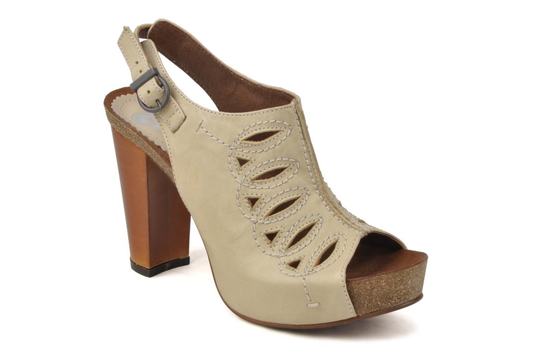 Sandaler Jeffrey Campbell Tohill Beige detaljeret billede af skoene
