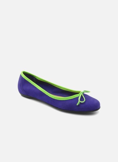 Ballerinaer Valensi Vega Lilla detaljeret billede af skoene