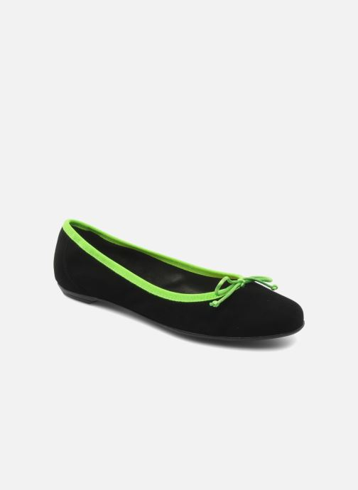 Ballet pumps Valensi Vega Black detailed view/ Pair view