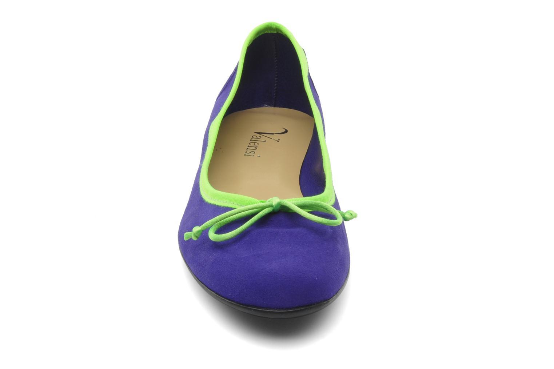 Ballet pumps Valensi Vega Purple model view