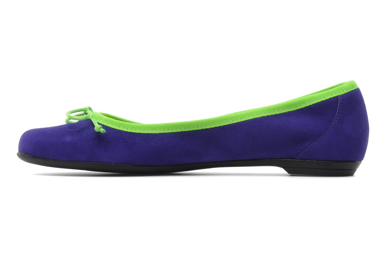 Ballet pumps Valensi Vega Purple front view