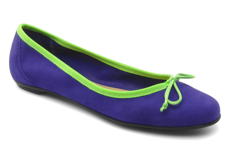 Ballerines Valensi Vega Violet vue détail/paire