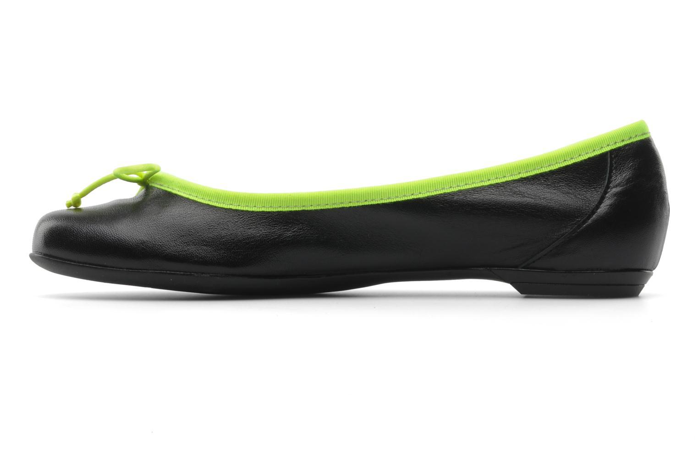 Ballet pumps Valensi Vega Black front view