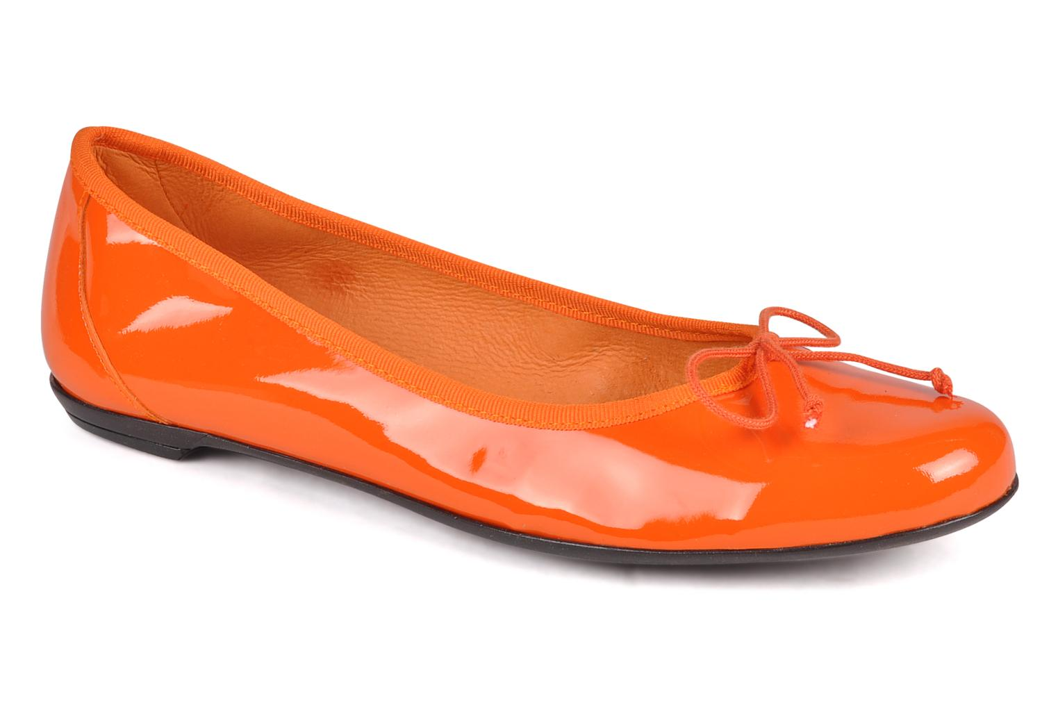 Ballerines Valensi Vega Orange vue détail/paire