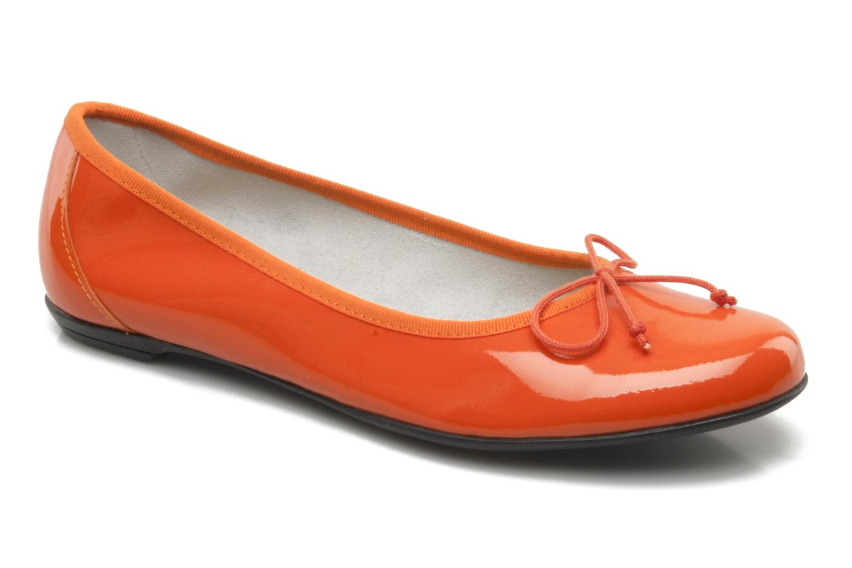Ballerines Valensi Vega Orange vue détail/paire