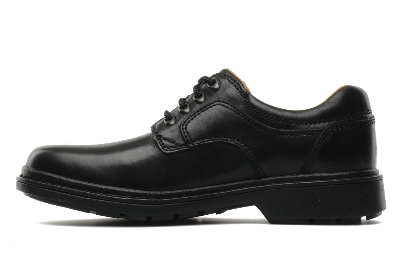 Lace-up shoes Clarks Rockie Lo Gtx Black front view