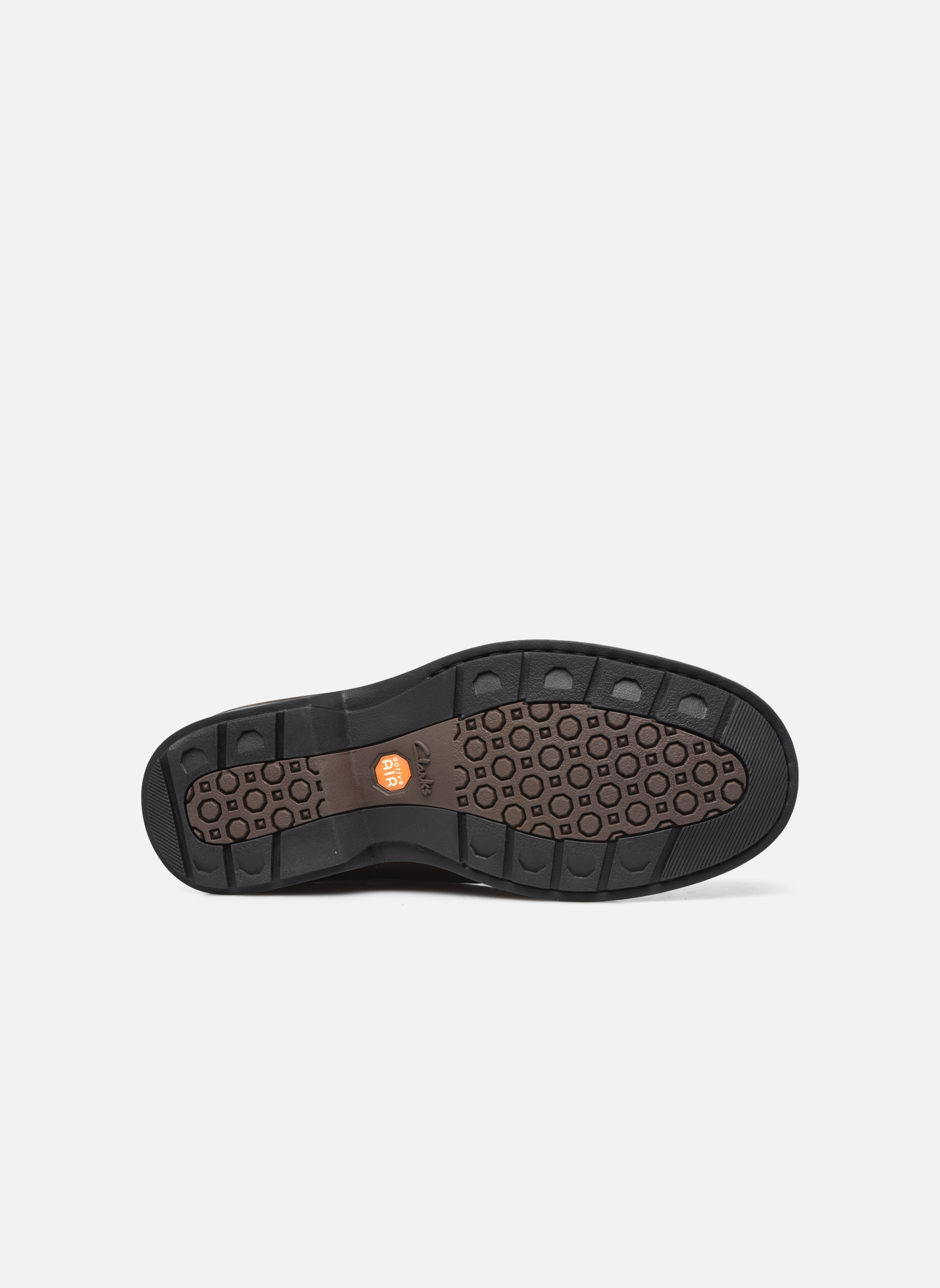 Lace-up shoes Clarks Rockie Hi Gtx Brown view from above