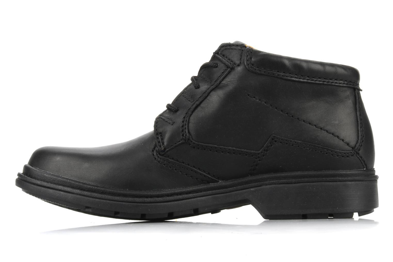 Chaussures à lacets Clarks Rockie Hi Gtx Noir vue face