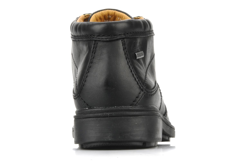 Chaussures à lacets Clarks Rockie Hi Gtx Noir vue droite