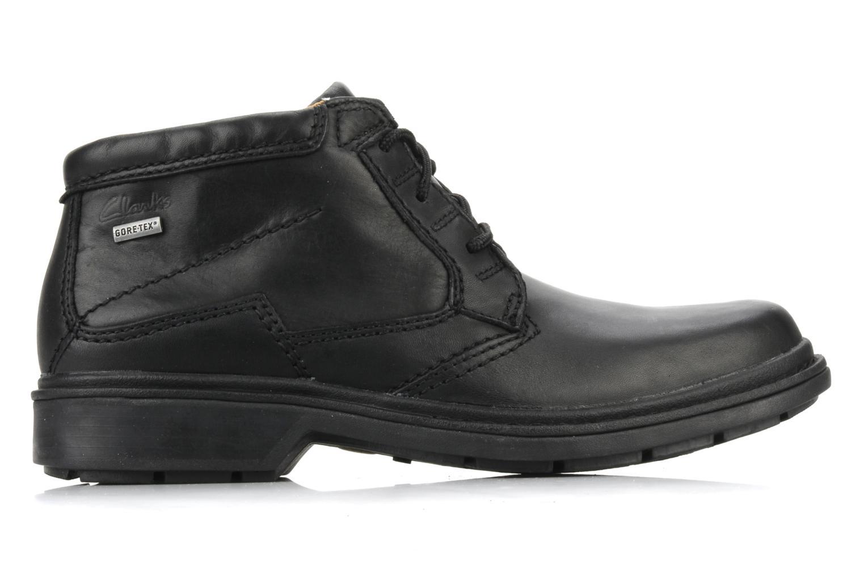 Chaussures à lacets Clarks Rockie Hi Gtx Noir vue derrière