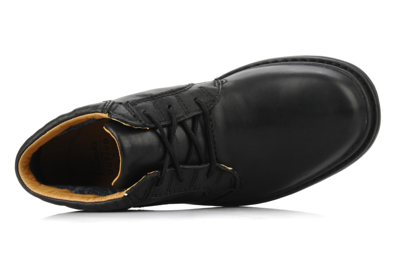 Chaussures à lacets Clarks Rockie Hi Gtx Noir vue gauche
