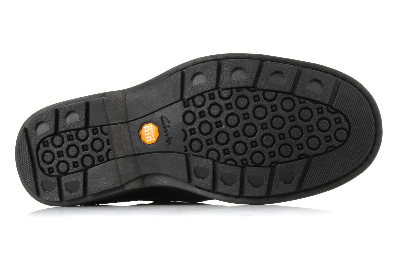Chaussures à lacets Clarks Rockie Hi Gtx Noir vue haut