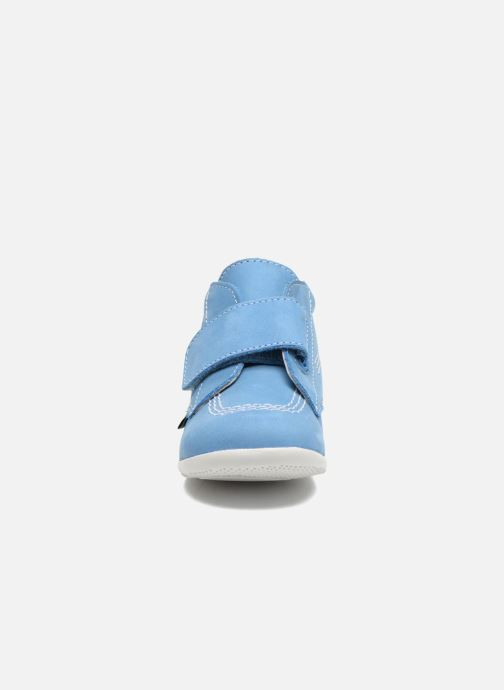 Schoenen met klitteband Kickers Bilou Blauw model