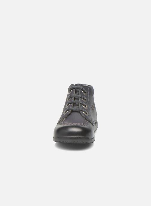 Chaussures à lacets Kickers Billy Noir vue portées chaussures