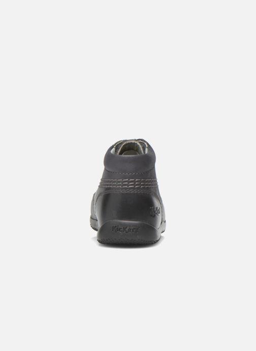Chaussures à lacets Kickers Billy Noir vue droite