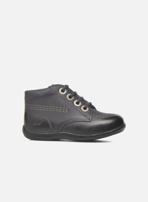 Chaussures à lacets Kickers Billy Noir vue derrière