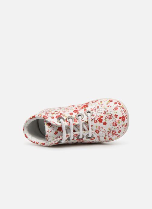 Chaussures à lacets Kickers Billy Blanc vue gauche