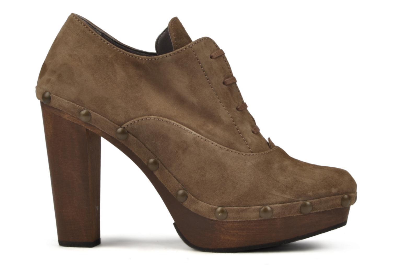 Chaussures à lacets Castaner Katia Marron vue derrière