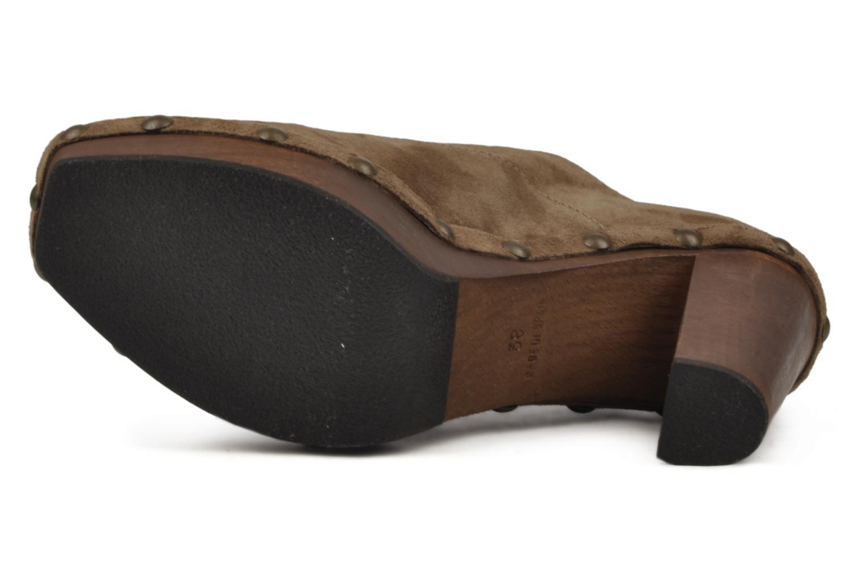 Chaussures à lacets Castaner Katia Marron vue haut