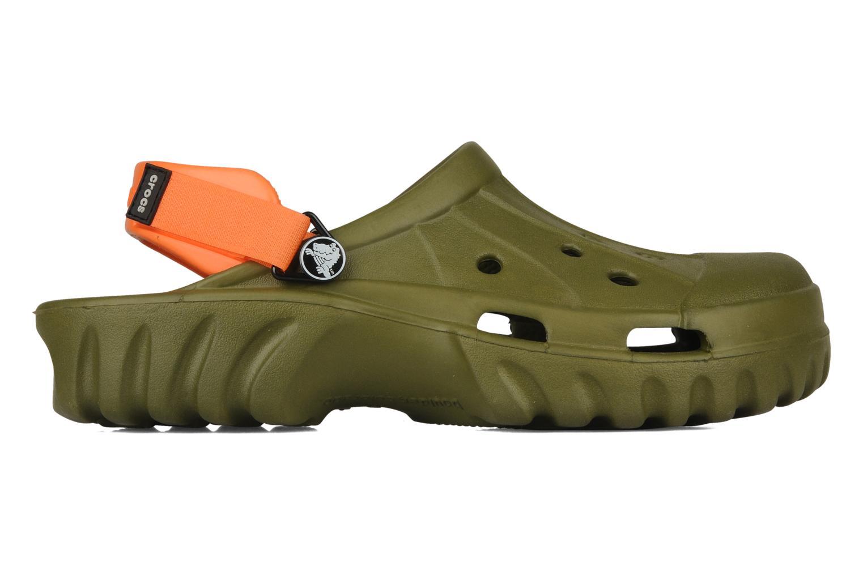 Sandales et nu-pieds Crocs Off Road Vert vue derrière