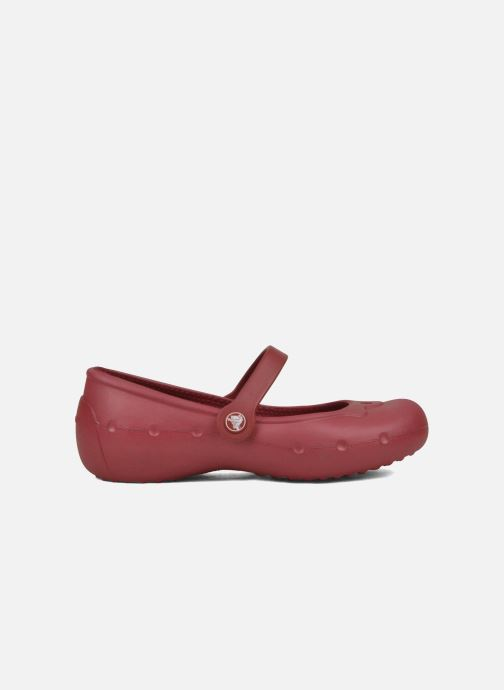 Ballerina's Crocs Girl Alice Rood achterkant