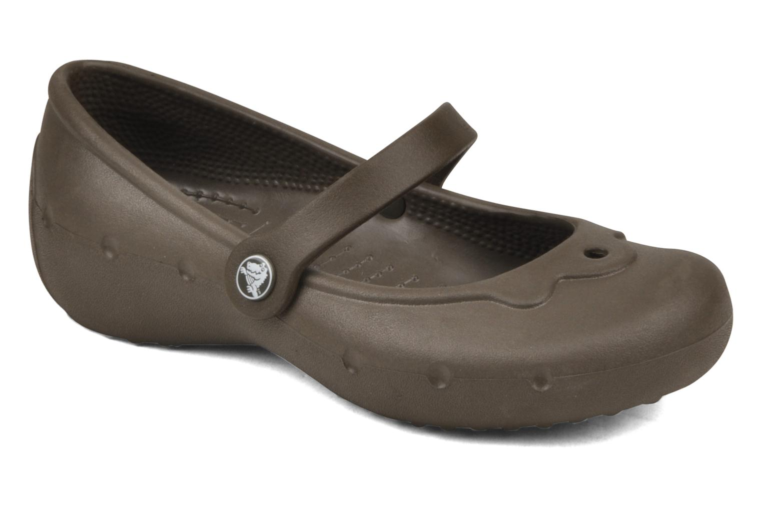 Ballet pumps Crocs Girl Alice Brown detailed view/ Pair view