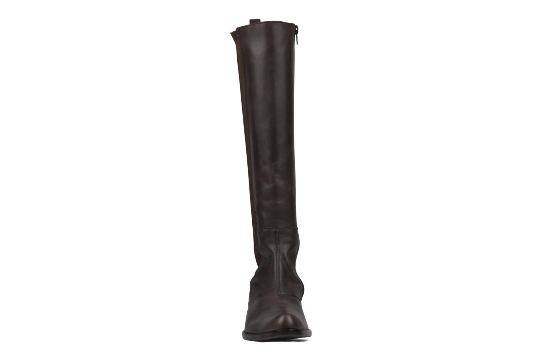 Boots & wellies Stephane Gontard Kaloa Brown model view