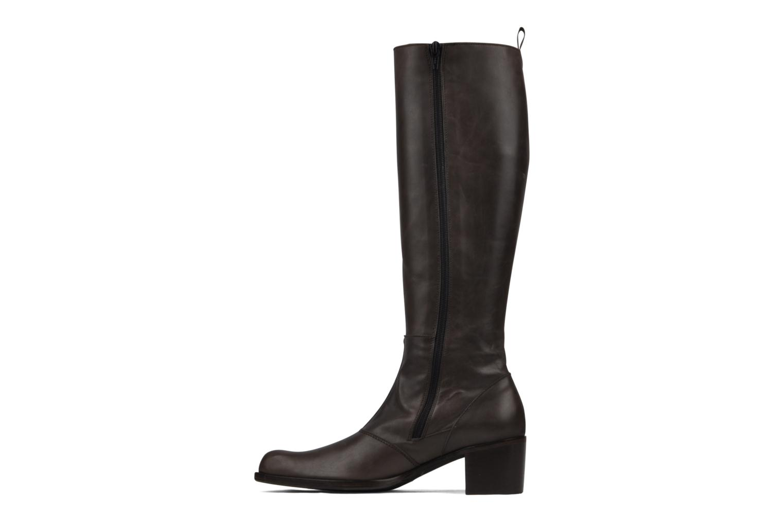 Boots & wellies Stephane Gontard Kaloa Brown front view