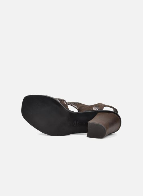 Nu Sandales Catarina pieds Et Belle Marron cFK1lJ