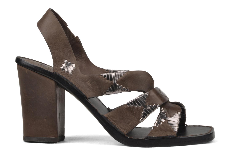Sandales et nu-pieds Belle Catarina Marron vue derrière
