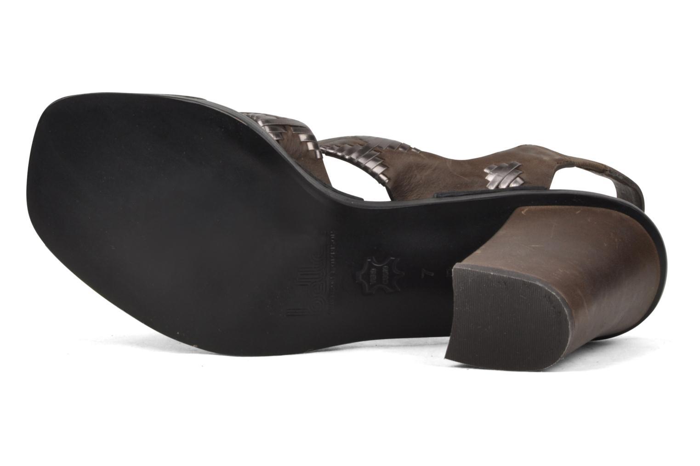 Sandales et nu-pieds Belle Catarina Marron vue haut