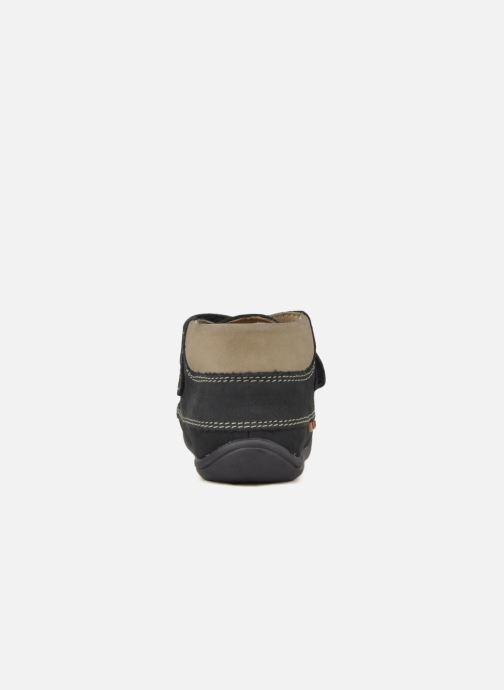 Chaussures à scratch Giesswein Cottbus Bleu vue droite