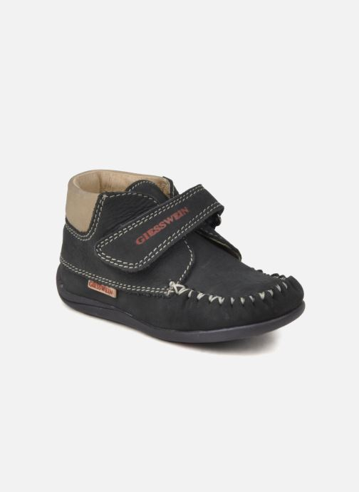 Chaussures à scratch Giesswein Cottbus Bleu vue détail/paire
