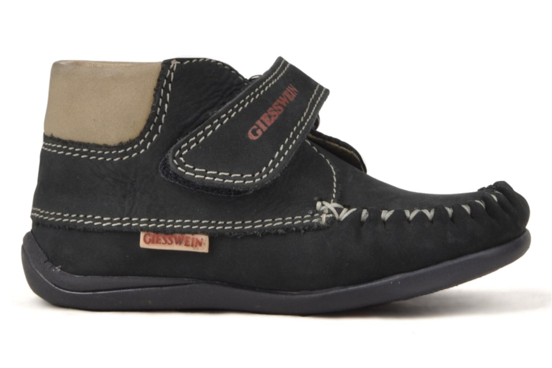 Chaussures à scratch Giesswein Cottbus Bleu vue derrière