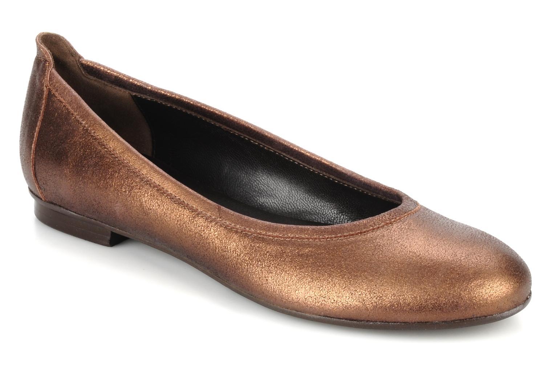 Los últimos zapatos de mujeres descuento para hombres y mujeres de  Georgia Rose CECILIE (Oro y bronce) - Bailarinas en Más cómodo dd8bb9