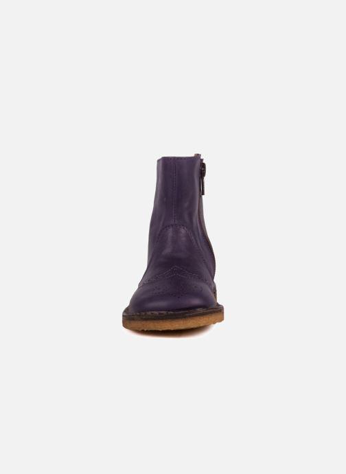 Bottines et boots PèPè Alberto Violet vue portées chaussures