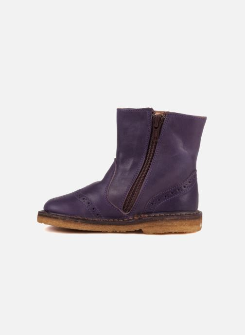 Bottines et boots PèPè Alberto Violet vue face