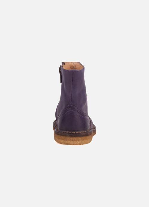 Bottines et boots PèPè Alberto Violet vue droite