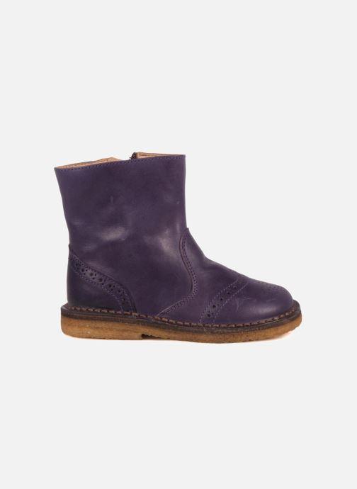 Bottines et boots PèPè Alberto Violet vue derrière