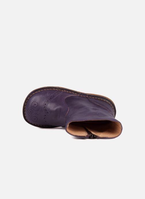 Bottines et boots PèPè Alberto Violet vue gauche
