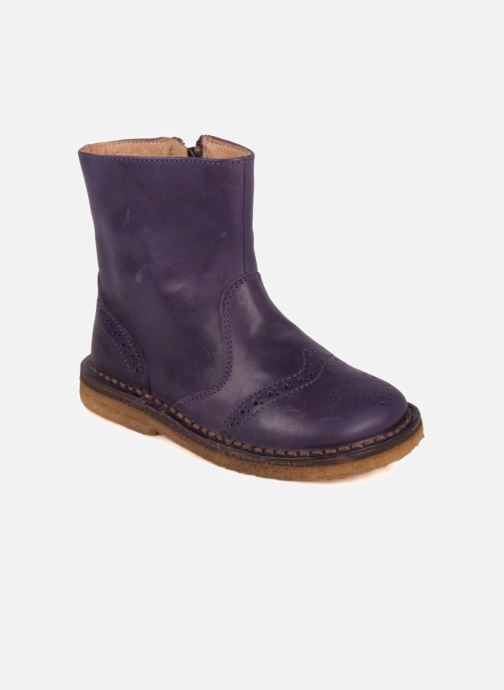 Ankle boots PèPè Alberto Purple detailed view/ Pair view