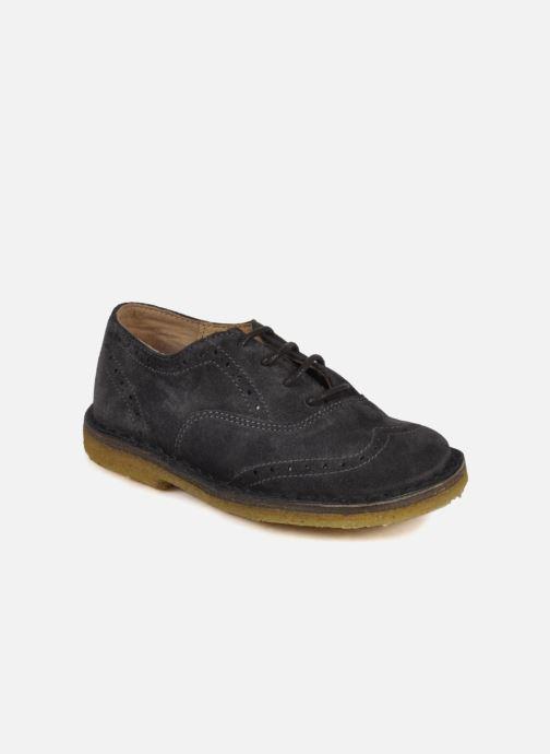 Zapatos con cordones PèPè Legio Gris vista de detalle / par