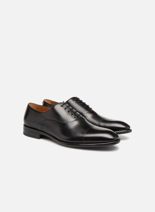 Chaussures à lacets Doucal's Louis Noir vue 3/4